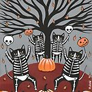 The Cats Celebration of Halloween by Ryan Conners