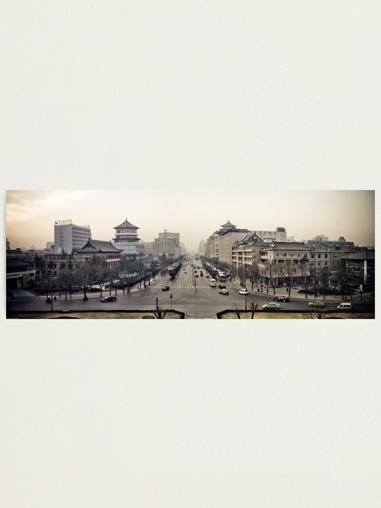 Alternate view of Xi'an Photographic Print