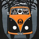 A Spooky Drive to the Halloween Party by Ryan Conners