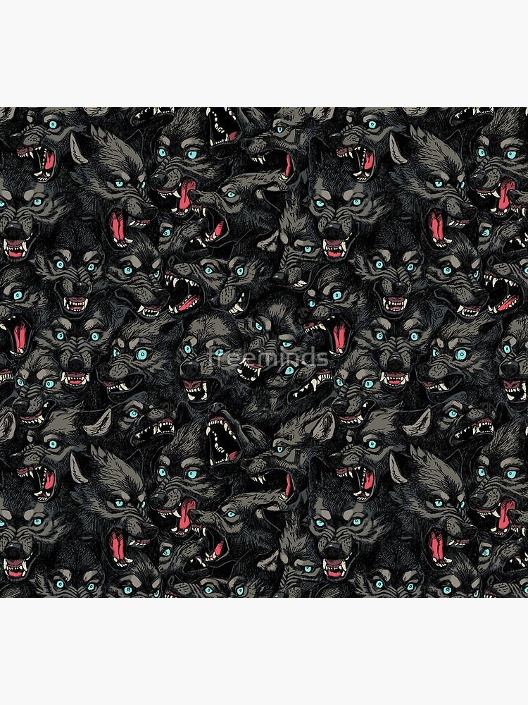 Wolf Pack Pattern by freeminds