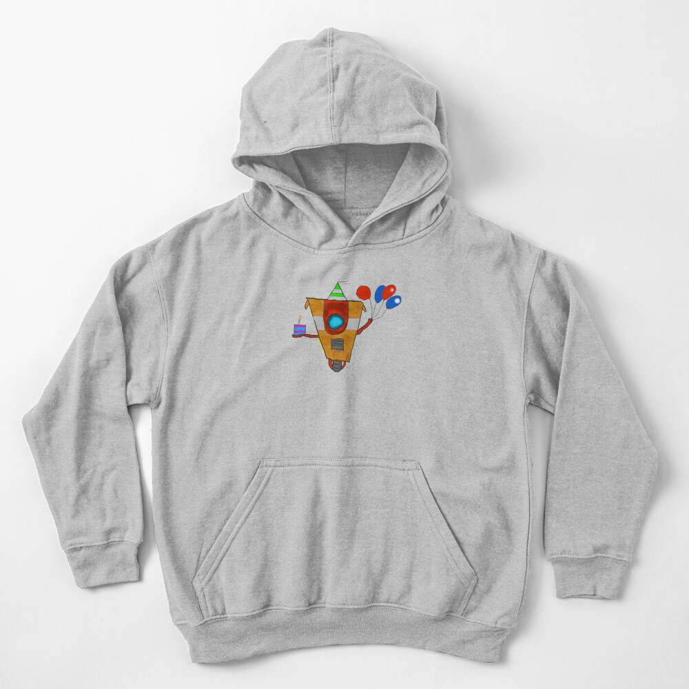 CL4P-TR4P Kids Pullover Hoodie