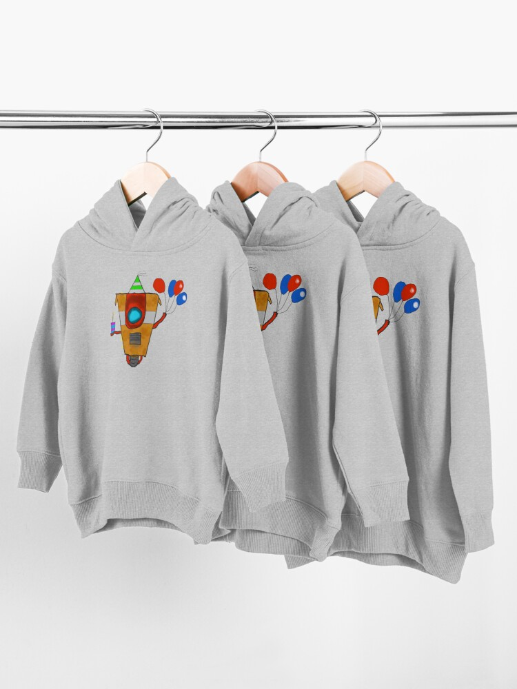 Alternate view of CL4P-TR4P Toddler Pullover Hoodie