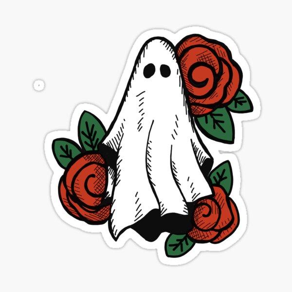 Rosie Ghosty Sticker