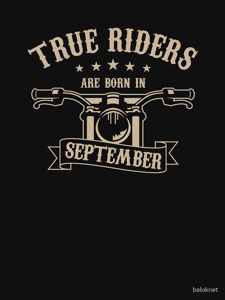 True Riders are born in September by beloknet