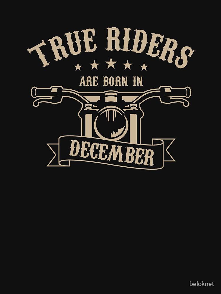 True Riders are born in December by beloknet