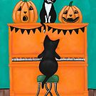 The Halloween Piano Cats by Ryan Conners