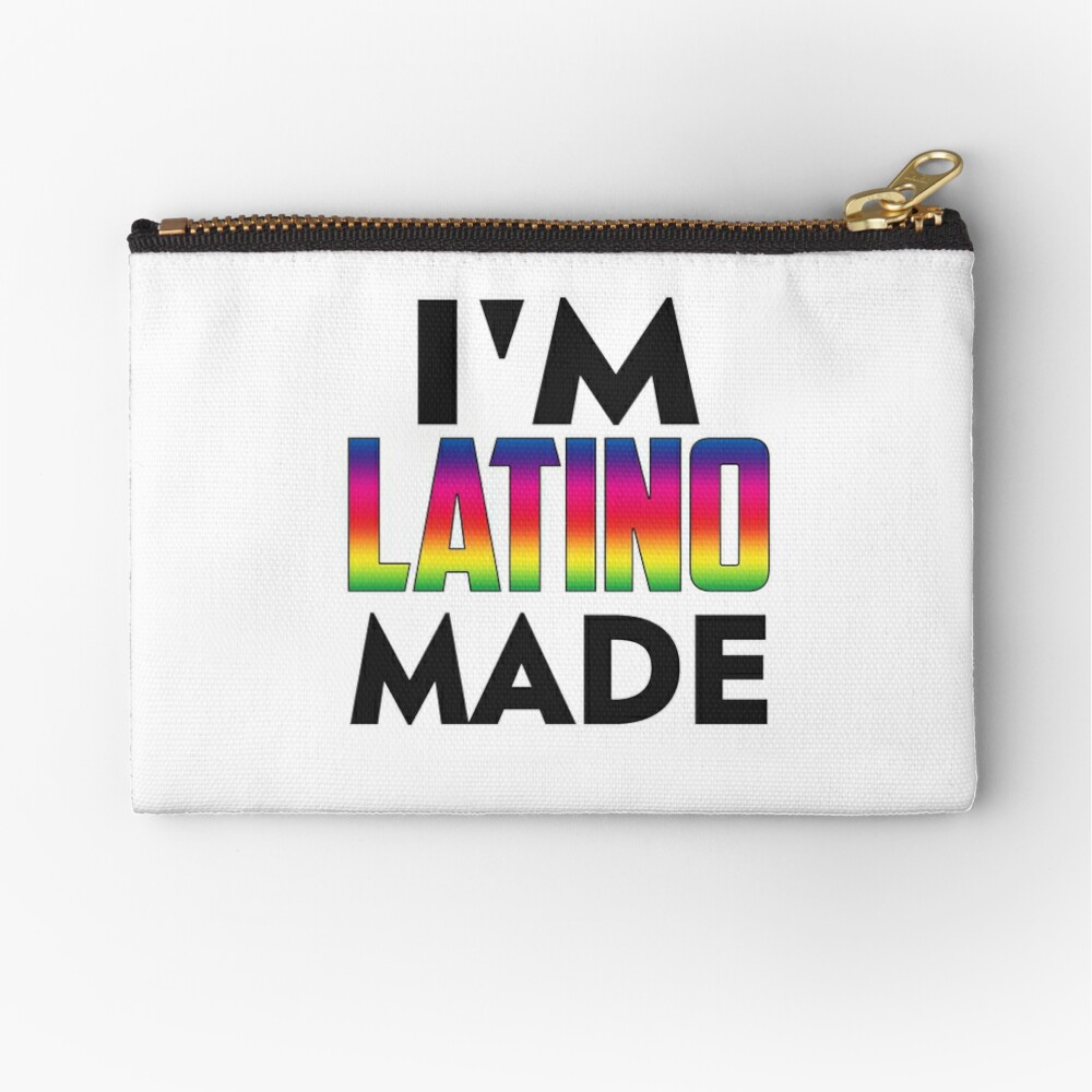 Latino Made Zipper Pouch