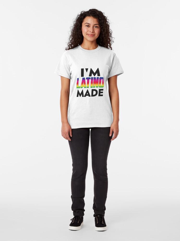 Alternate view of Latino Made Classic T-Shirt