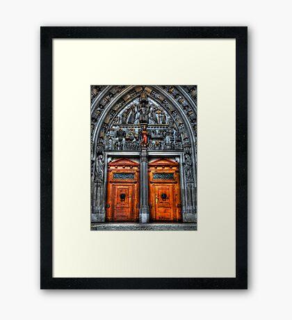 Sanctum's Threshold Framed Print