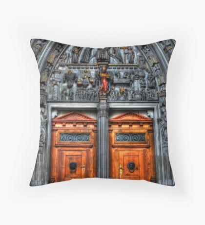 Sanctum's Threshold Throw Pillow
