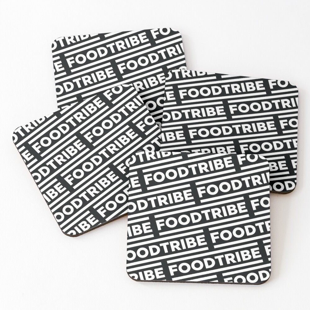 FoodTribe Coasters (Set of 4)