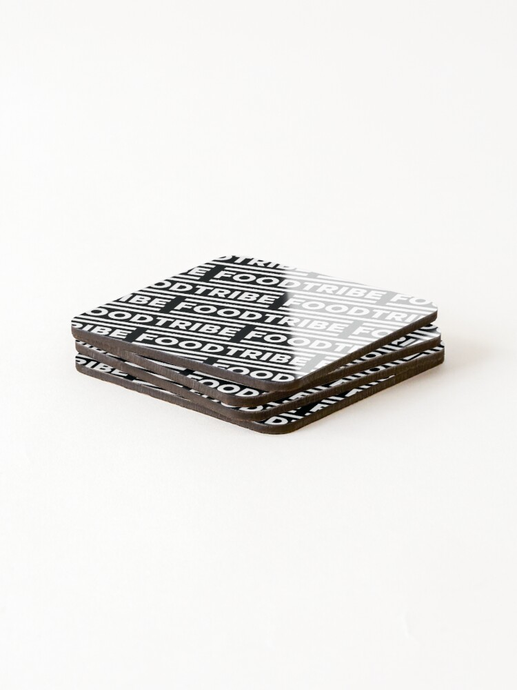 Alternate view of FoodTribe Coasters (Set of 4)