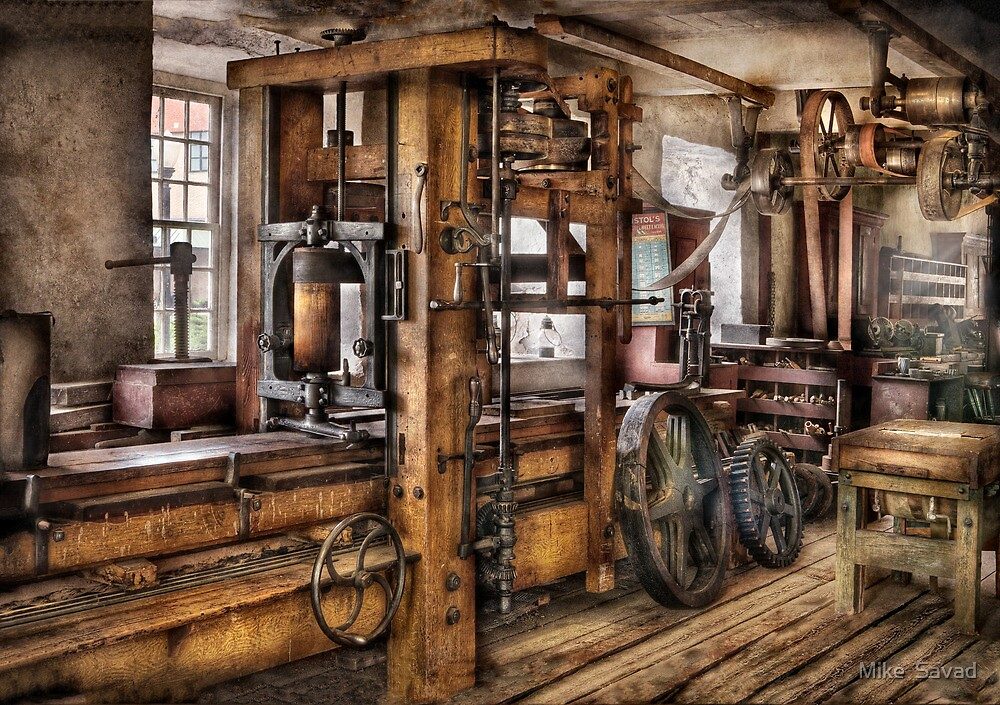 Steam Punk - The Press by Michael Savad