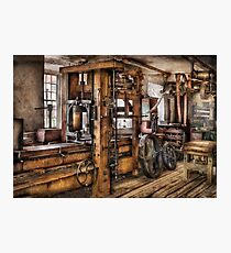Steam Punk - The Press Photographic Print