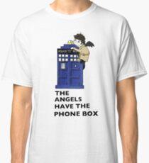 Castiel Has The Phone Box Classic T-Shirt