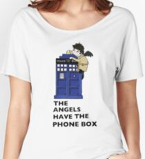 Castiel Has The Phone Box Women's Relaxed Fit T-Shirt