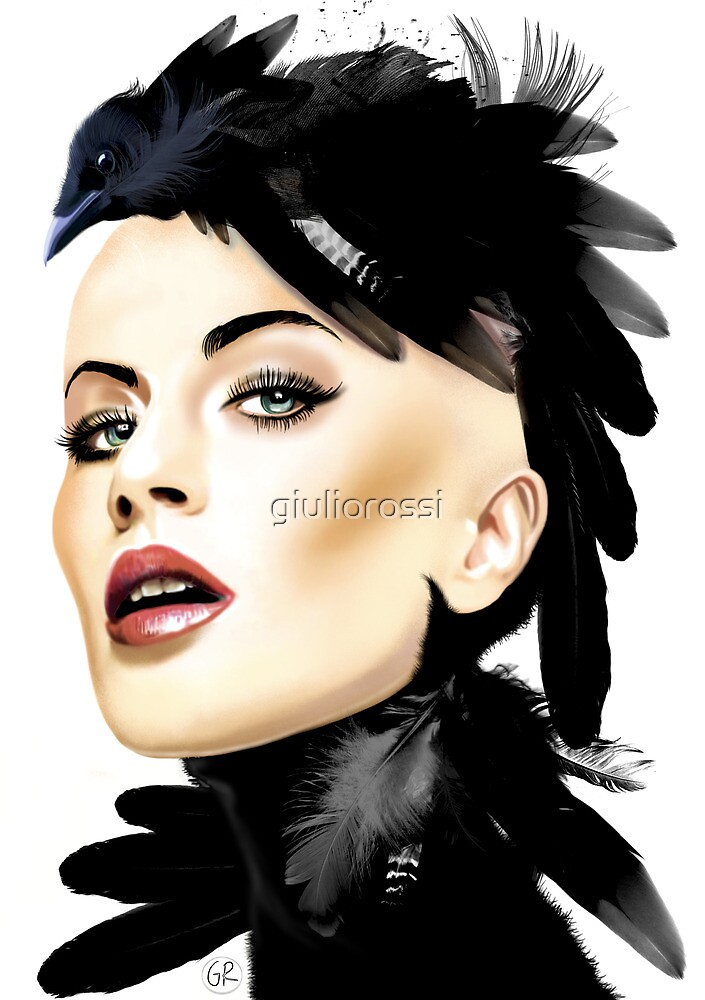 Lady Crow by giuliorossi
