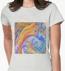 Abstraction #A Fitted T-Shirt
