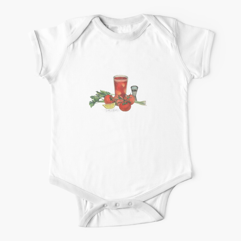 bloody mary recipe Baby One-Piece