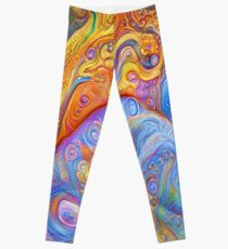 Abstraction #A Leggings