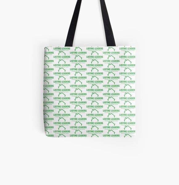 Listing Leaders Logo All Over Print Tote Bag