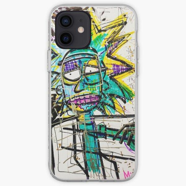 Rick Sanchez Riding Dirty iPhone Soft Case
