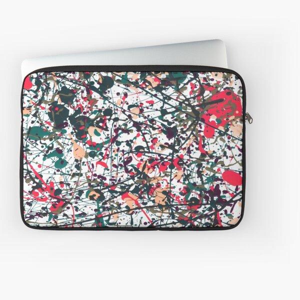 mijumi Pollock Red White Blue Laptop Sleeve