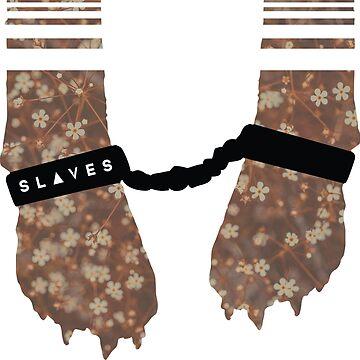 Slaves Cuffed Fox Paws by marekmutch
