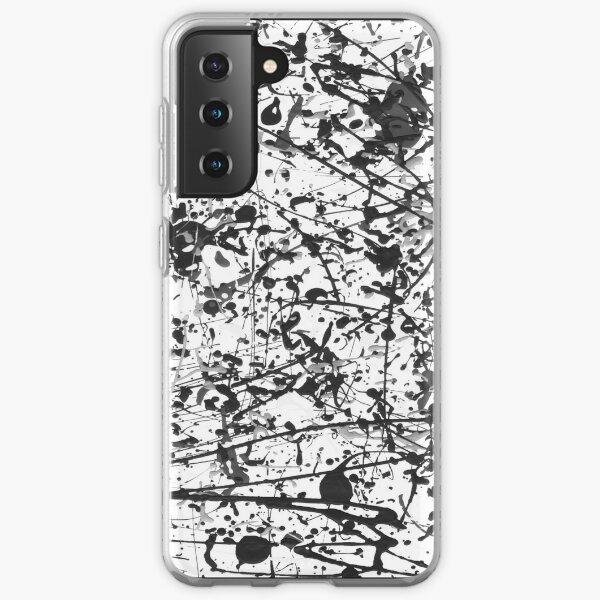 Mijumi Pollock Black and White Samsung Galaxy Soft Case