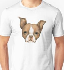 Brown Boston Terrier T-Shirt