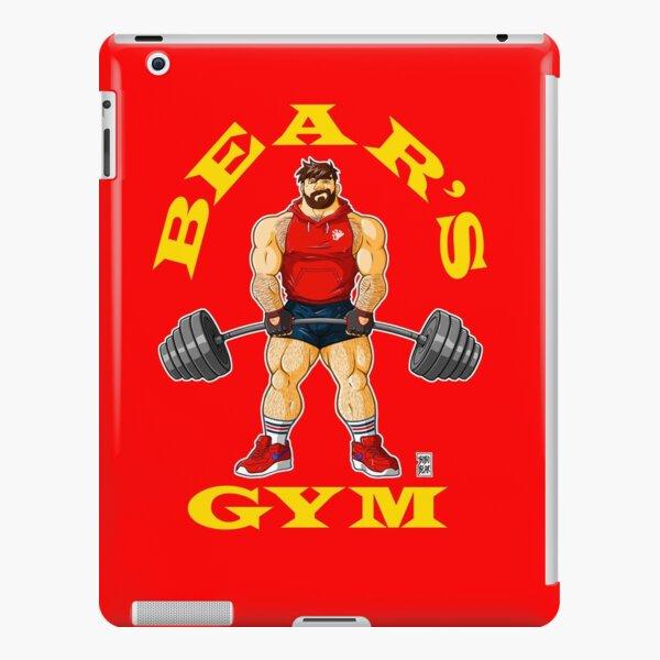 ADAM LIKES BEAR'S GYM - YELLOW WRITING iPad Snap Case