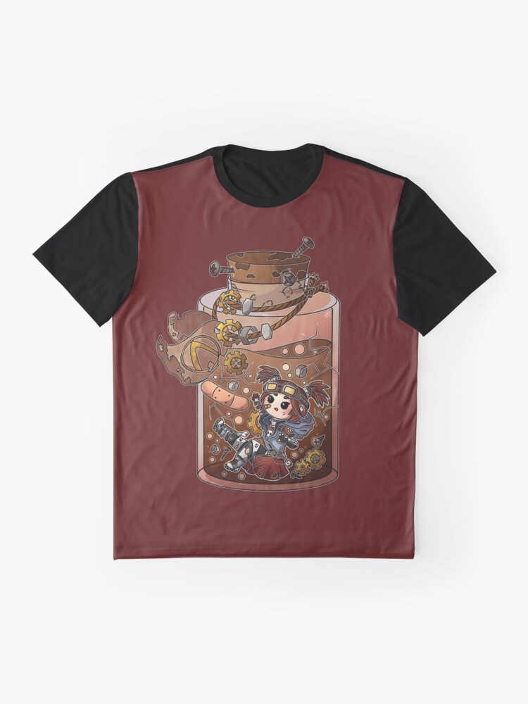 Alternate view of Gaige Potion Bottle Graphic T-Shirt