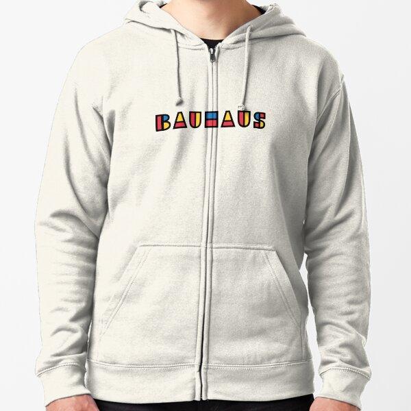 Bauhaus Zipped Hoodie