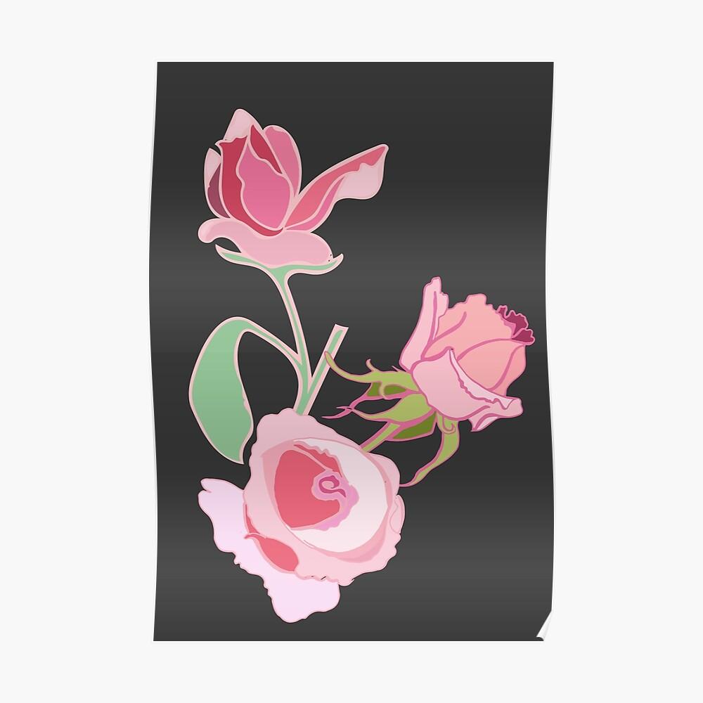 California Roses Poster