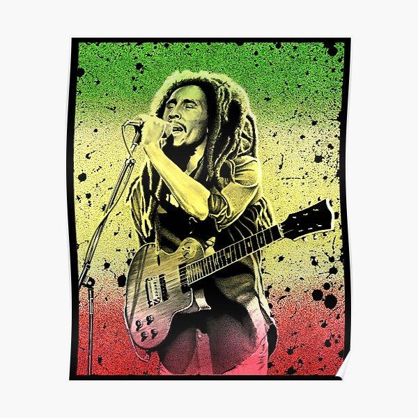 Bob Marley art Poster
