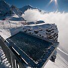 Winter on Männlichen by Mark Howells-Mead