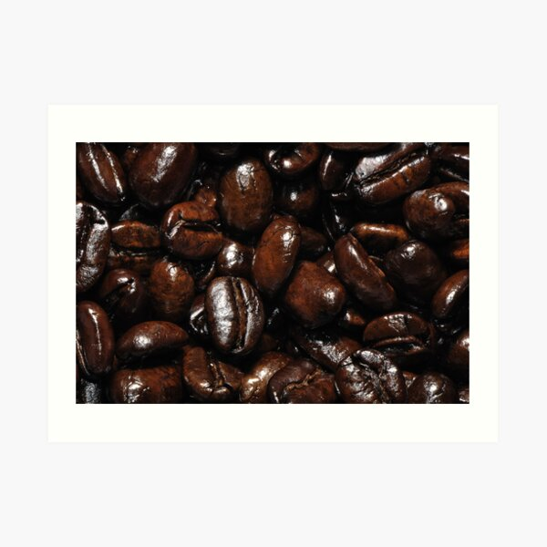 Dark Roast Coffee Art Print