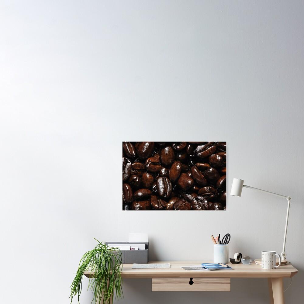 Dark Roast Coffee Poster