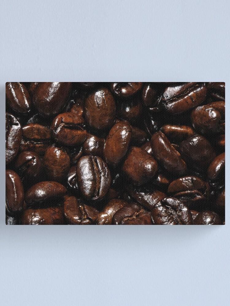 Alternate view of Dark Roast Coffee Canvas Print