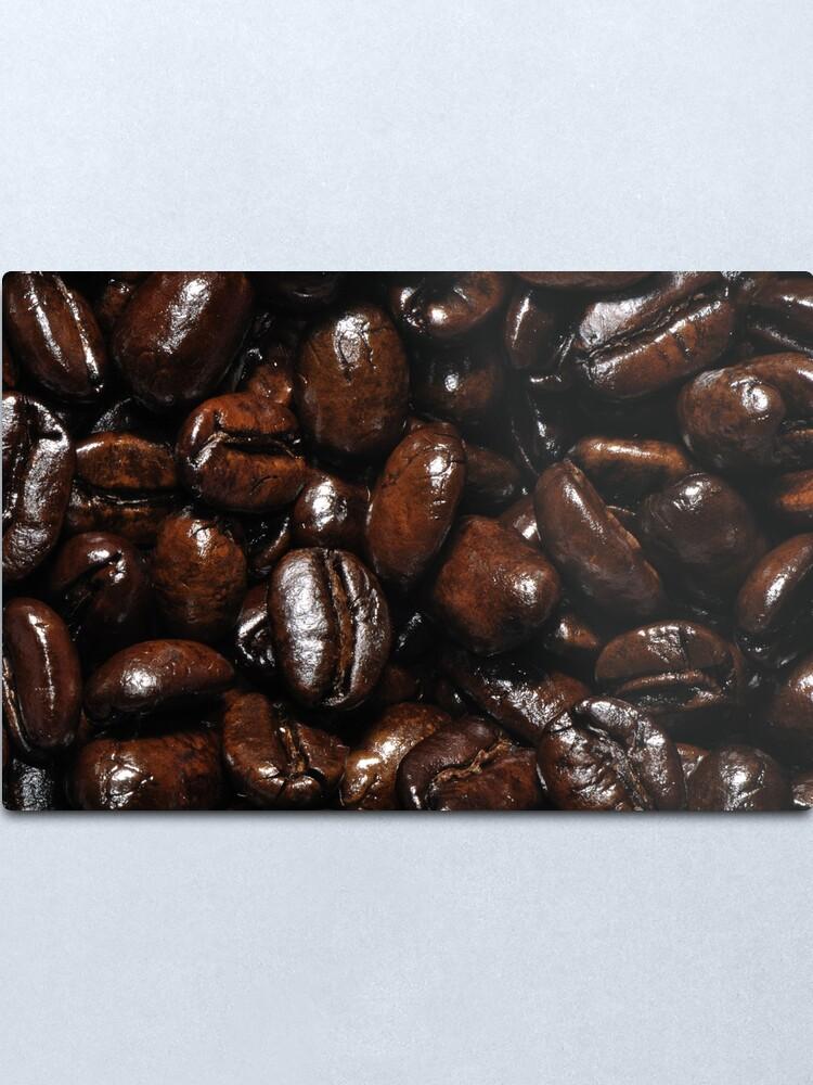 Alternate view of Dark Roast Coffee Metal Print