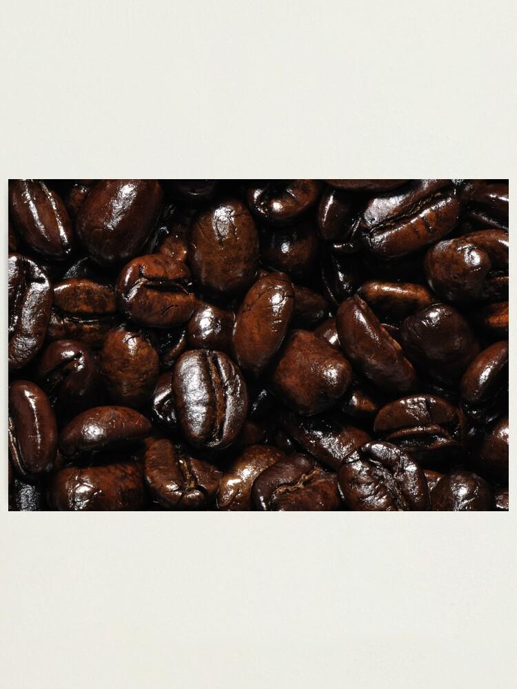 Alternate view of Dark Roast Coffee Photographic Print