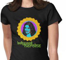 Bollywood Heroine: Vidya Womens Fitted T-Shirt