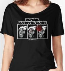 Zombie Survival Guide Women's Relaxed Fit T-Shirt