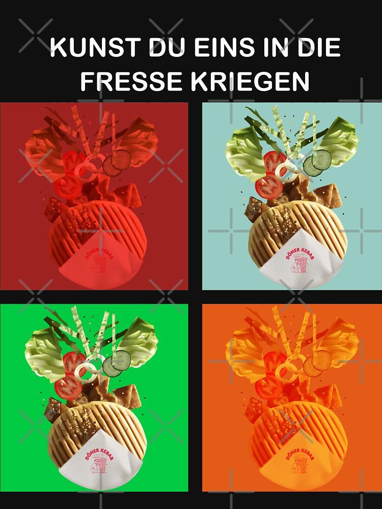 Kebap: Kunst eins in die Fresse Kriegen by dave-ulmrolls