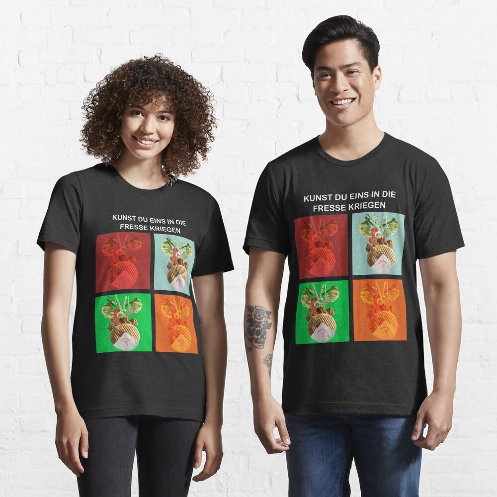 Kebap: Kunst eins in die Fresse Kriegen Essential T-Shirt