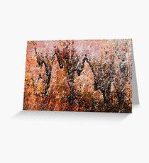 Rust Greeting Card