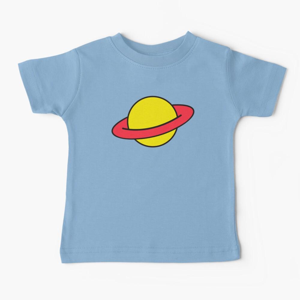 Chuckie Rugrats Planet T-shirt Baby T-Shirt