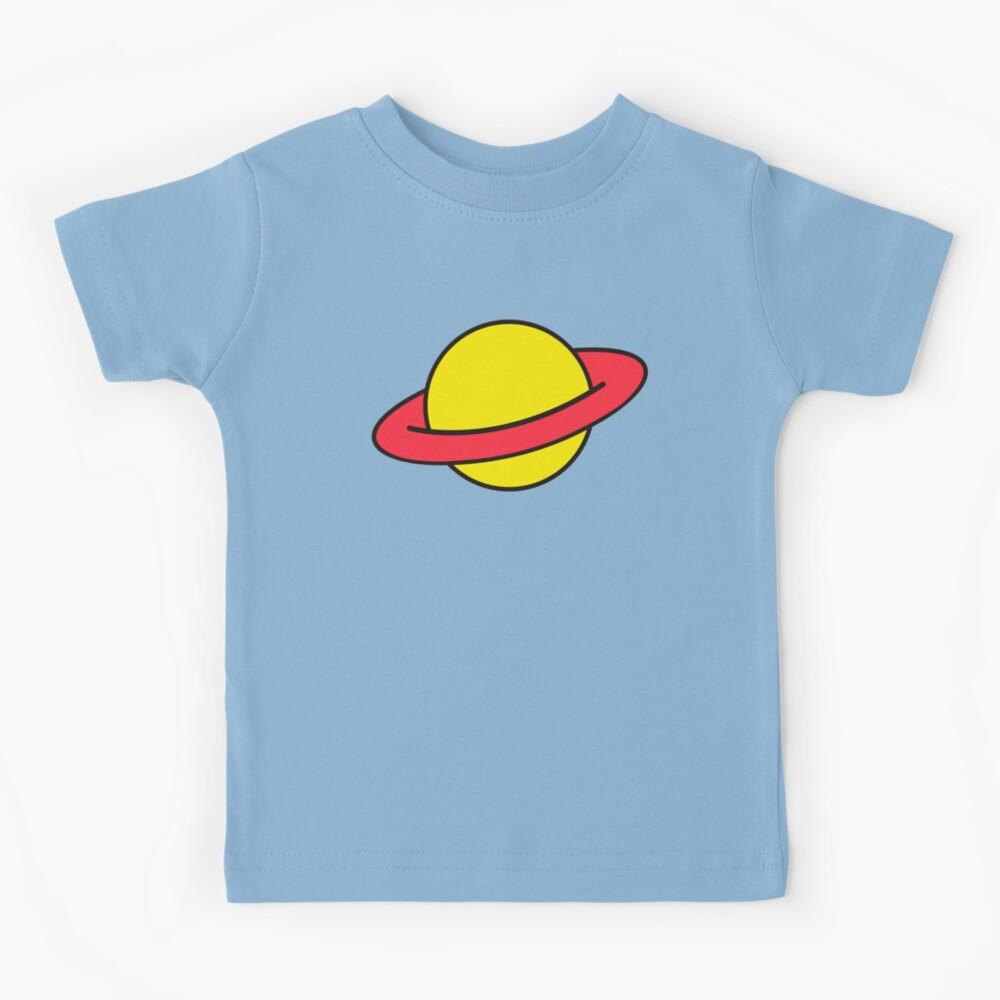 Chuckie Rugrats Planet T-shirt Kids T-Shirt