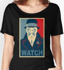 Who is Watching? Women's Relaxed Fit T-Shirt