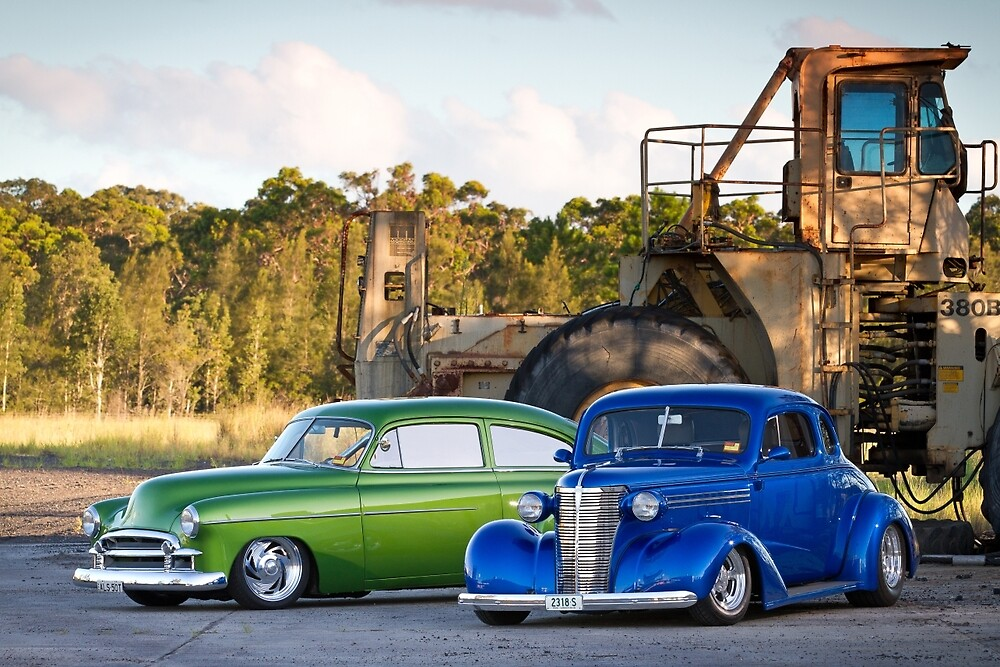 Al Scott's 1950 and 1938 Chevrolets by HoskingInd
